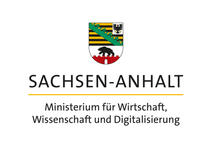Logo Sachsen-Anhalt Ministerium für Wirtschaft, Wissenschaft und Digitalisierung
