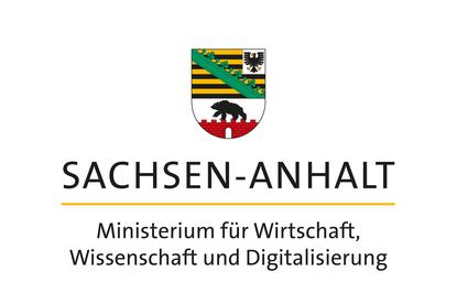 Logo Saxony-Anhalt Ministry for Economy, Science and Digitization